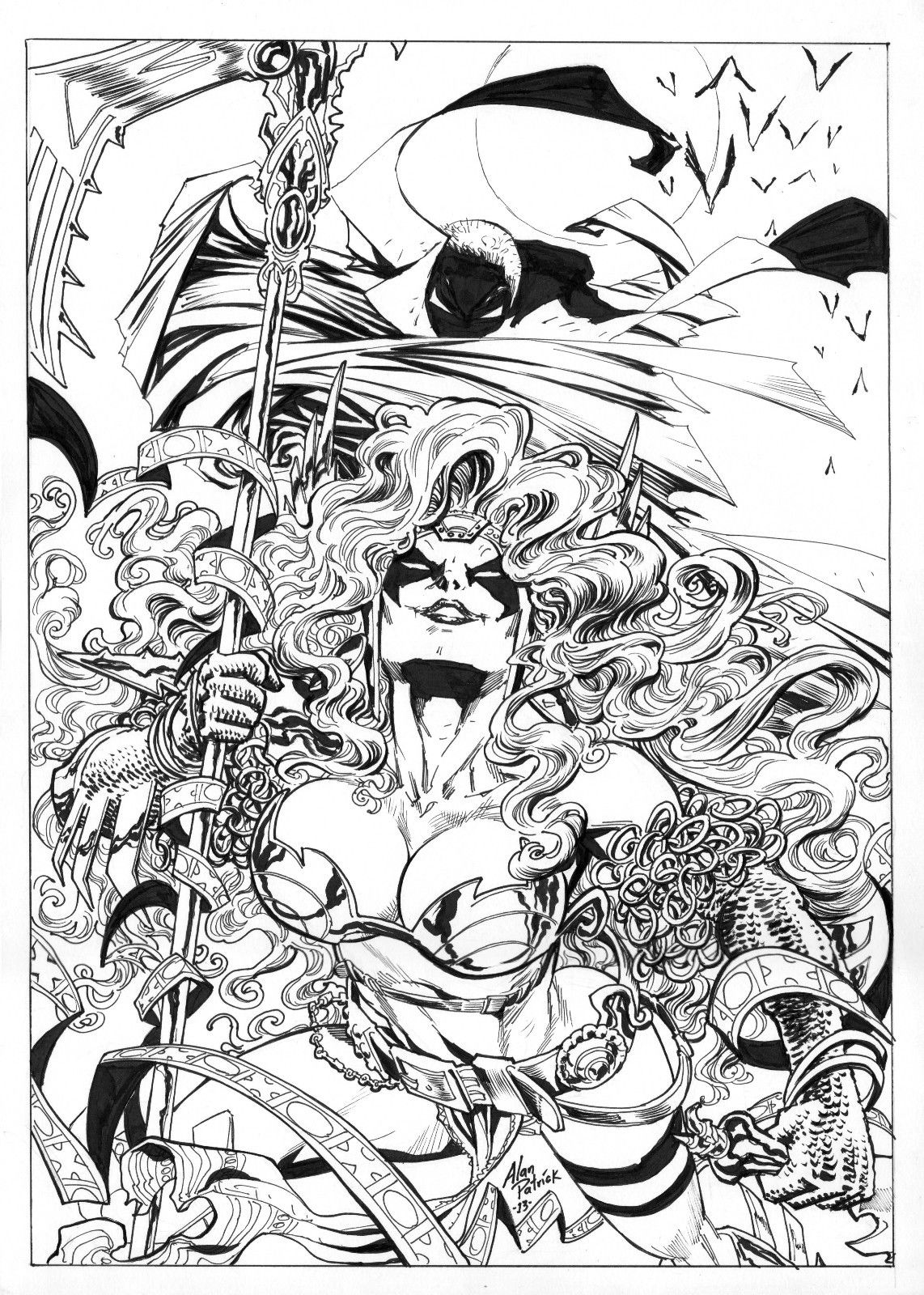 Originals for Spawn coloring pages